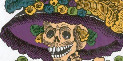 """""""La Catrina"""" es una figura cultural mexicana creada en 1910 por José Guadalupe Posada. Foto:vía Wikipedia"""