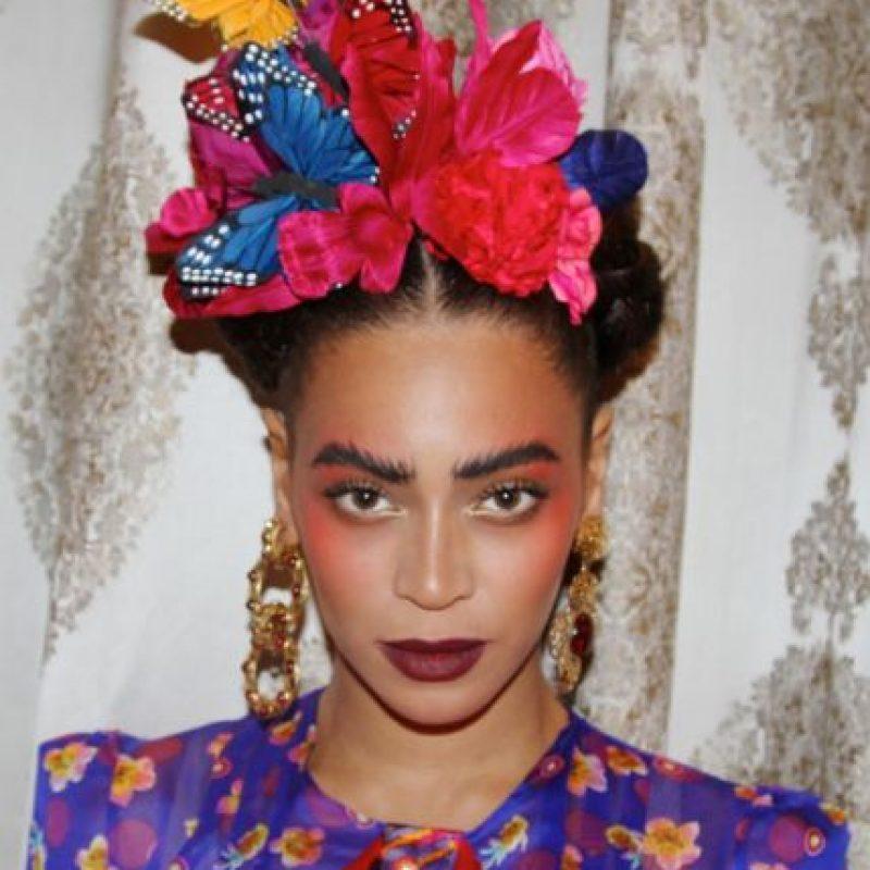 Incluso Beyonce se disfrazó de ella. Foto:vía Instagram
