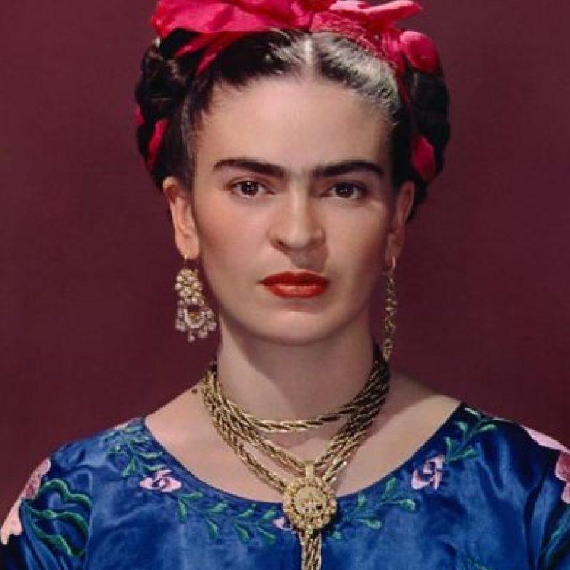 Frida Kahlo. Foto:vía Vogue París