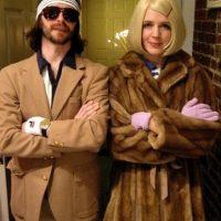 Y su abrigo de piel. Foto:vía Flickr