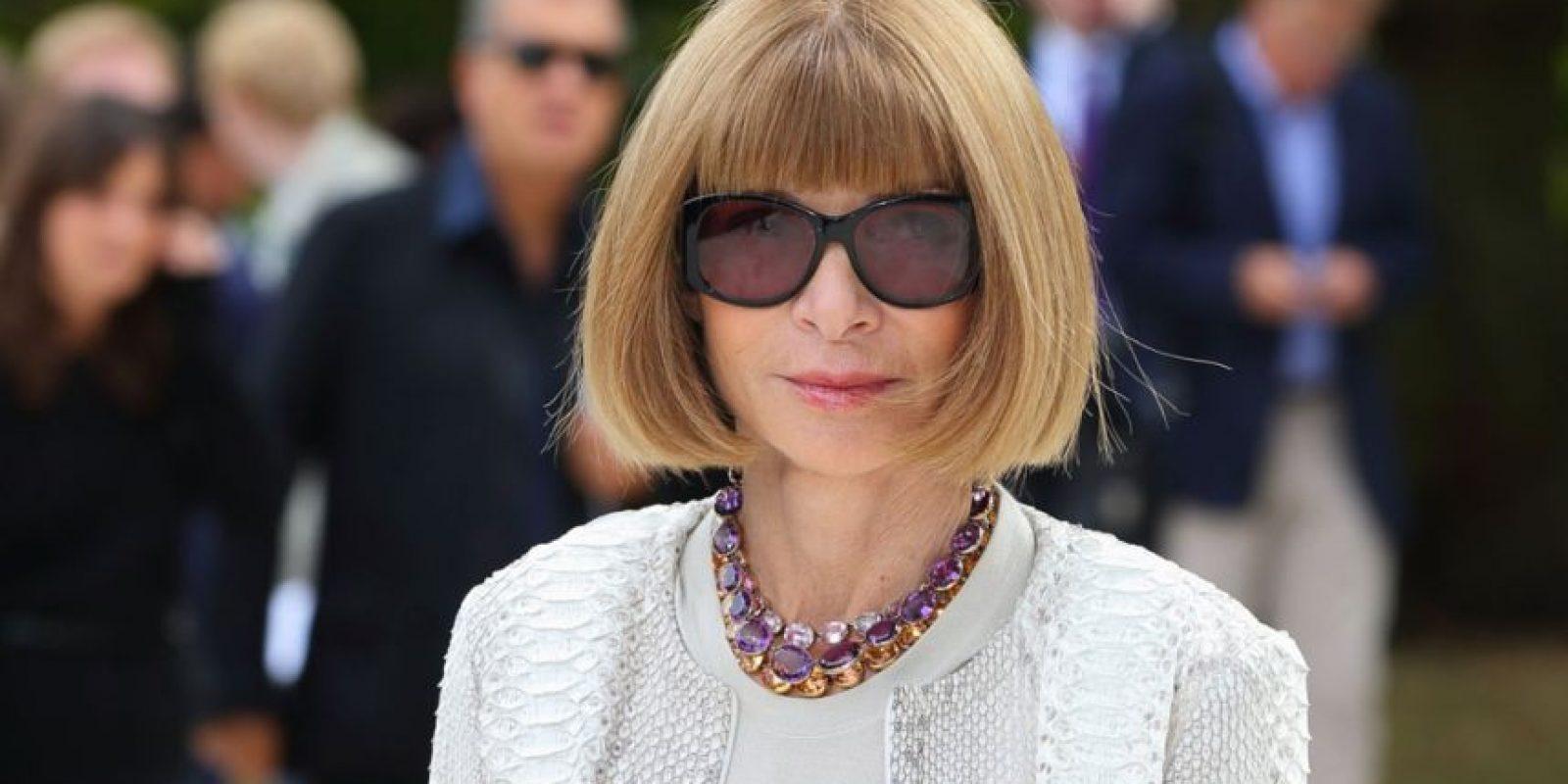 Anna Wintour. Foto:vía Getty Images