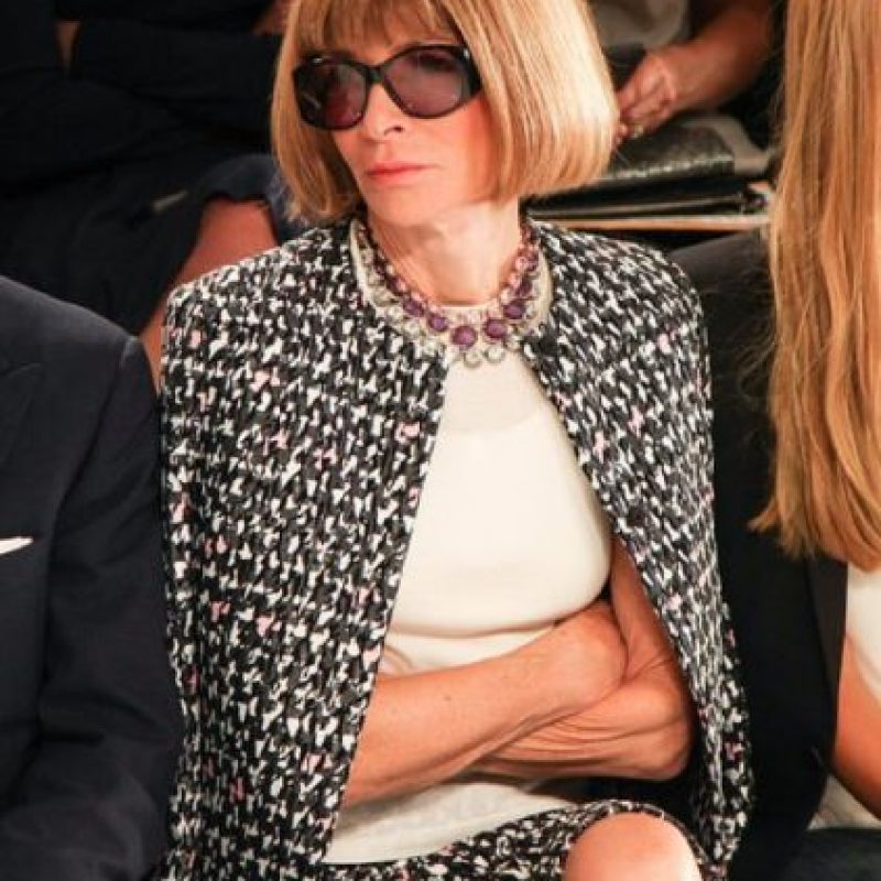 La editora en jefe de Vogue es también muy copiada y seguida. Foto:vía Getty Images