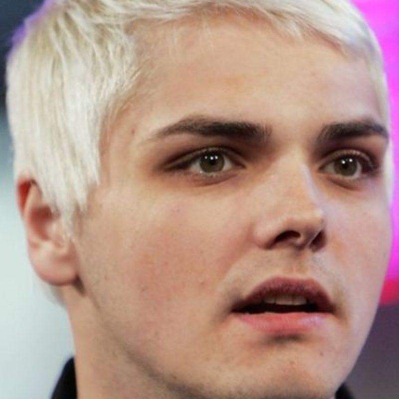 """Gerard Way duró con """"My Chemical Romance"""" hasta 2013, luego se lanzó de solista. Foto:vía Getty Images"""