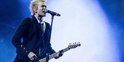 """Se separó de su banda por un tiempo, se casó y divorció de Avril Lavigne y lo hospitalizaron por alcoholismo. Pero así se le vió en Bogotá este año, en """"Rock al Parque"""". Foto:vía Getty Images"""