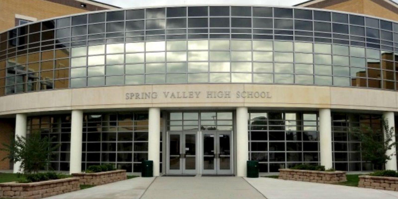 Todo ocurrió en las instalaciones de la escuela Spring Valley High School en Estados Unidos. Foto:Vía facebook.com/springvalleyvikings