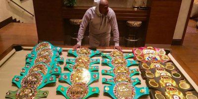 Floyd Mayweather nunca deja de presumir su riqueza. Foto:Vía instagram.com/FloydMayweather