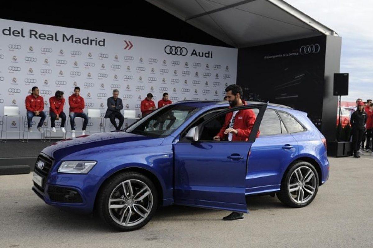 Todo gracias a Audi, marca patrocinadora del club merengue. Foto:Getty Images