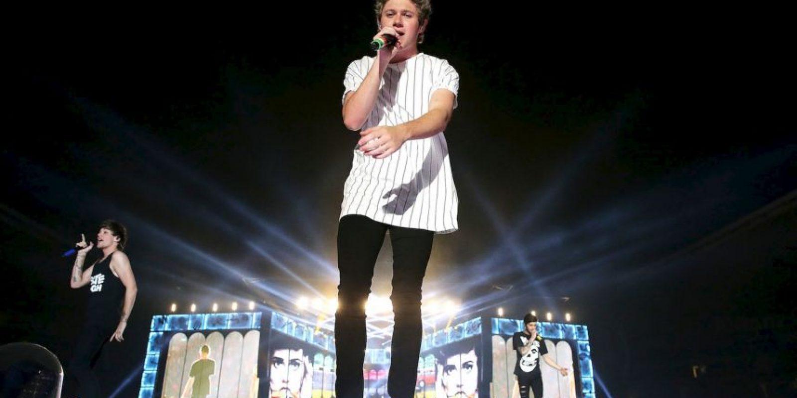 """Las fans del cantante británico no perdieron el tiempo y rápidamente crearon el hashtag """"#NiallHoranParaBond"""" en Twitter. Foto:Getty Images"""