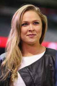 """""""Rowdy"""" compite en la categoría de Peso Gallo de Mujeres, de la cual es la vigente campeona. Foto:Getty Images"""
