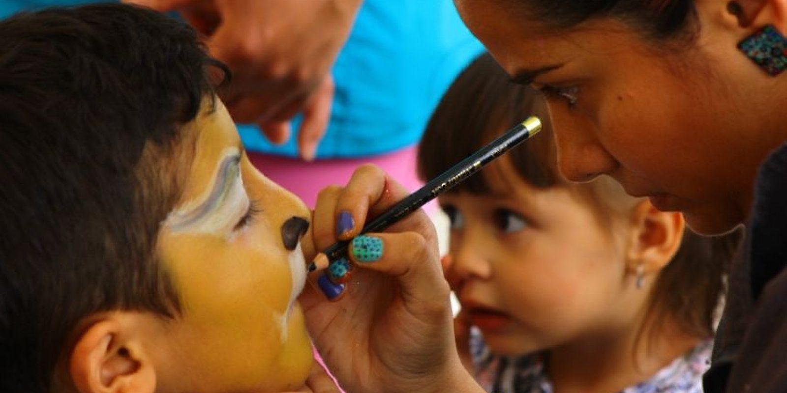 Celebración del día de los niños en el Zoológico Santa Fe. Foto:Cortesía: Zoológico Santa Fe.