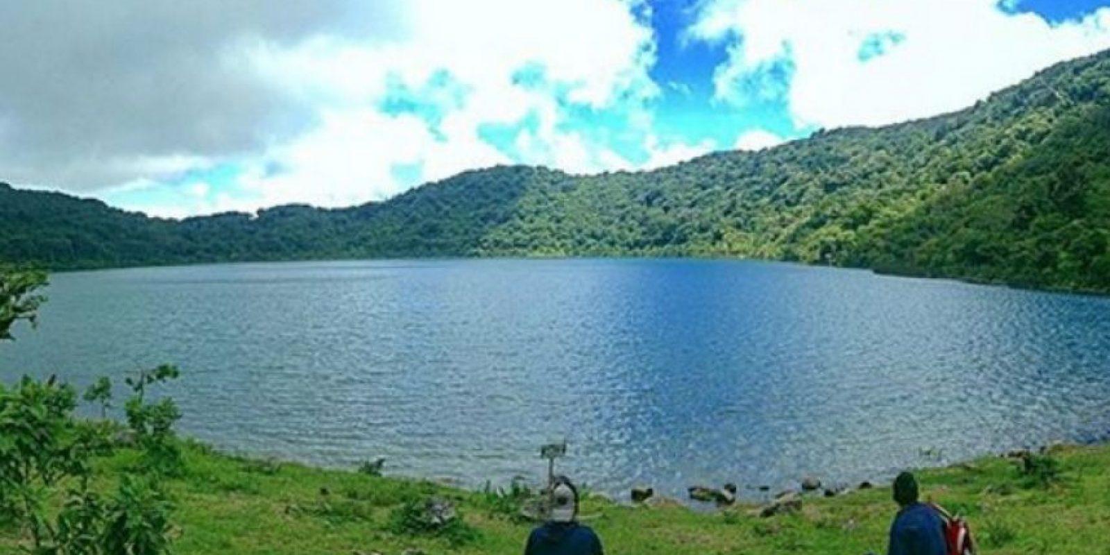 3- La laguna del Volcán de Ipala se ubica entre los departamentos de Chiquimula y Jutiapa. Foto:instagram.com/javisalguero10
