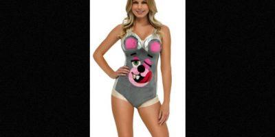 El leotardo con cara de oso alcanza un precio de 30 dólares en internet. Foto:yandy.com