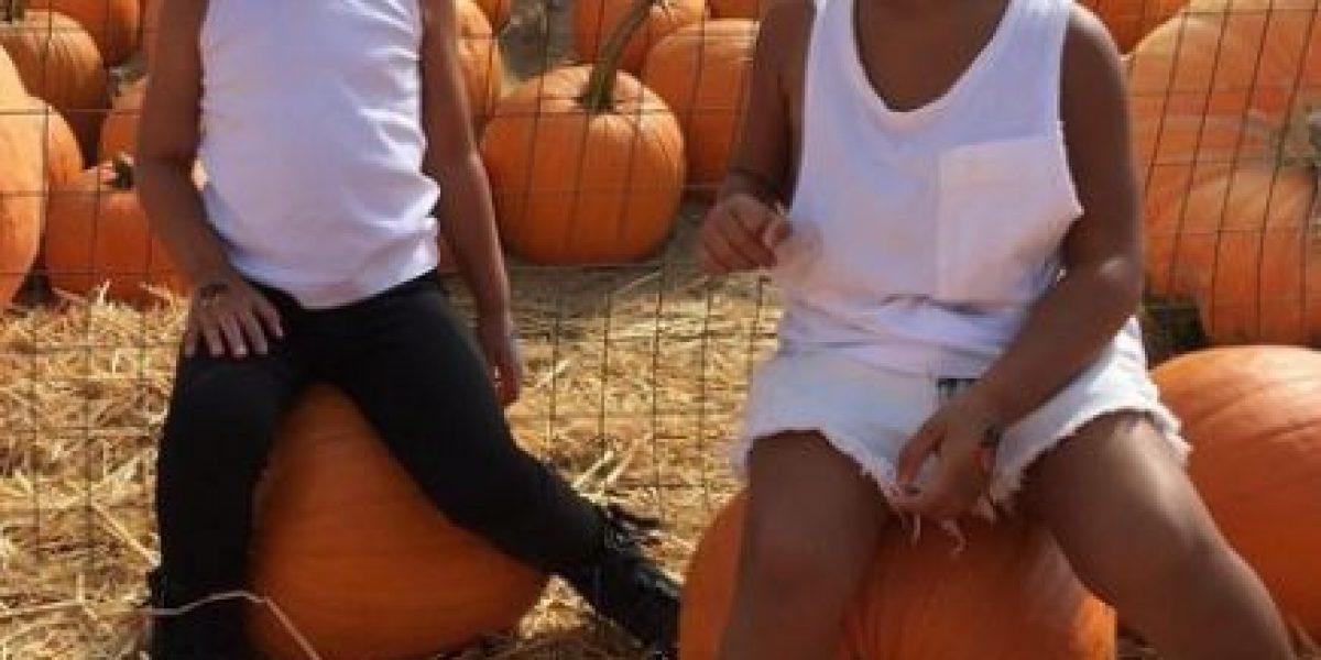 Miren cómo luce la hija de Kim Kardashian con este adorable disfraz