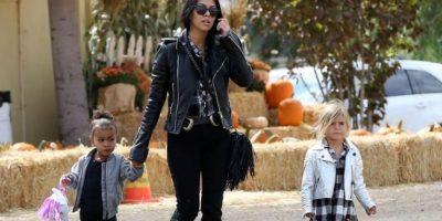 Pero el festejo no inició de la mejor forma para la hija de Kim Kardashian Foto:Grosby Group
