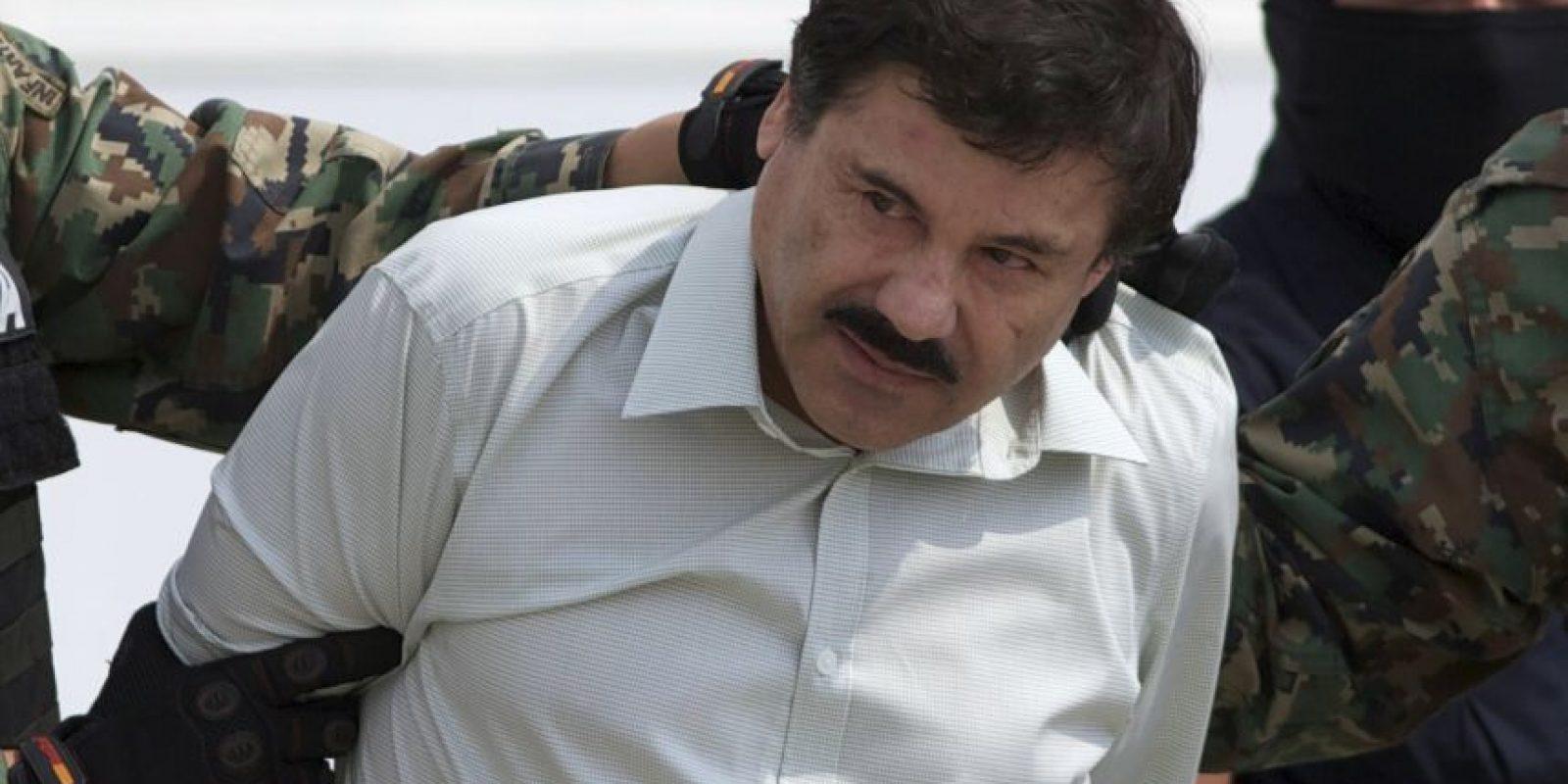 El narcotraficante escapó de su celda el 11 de julio de este 2015 Foto:AP