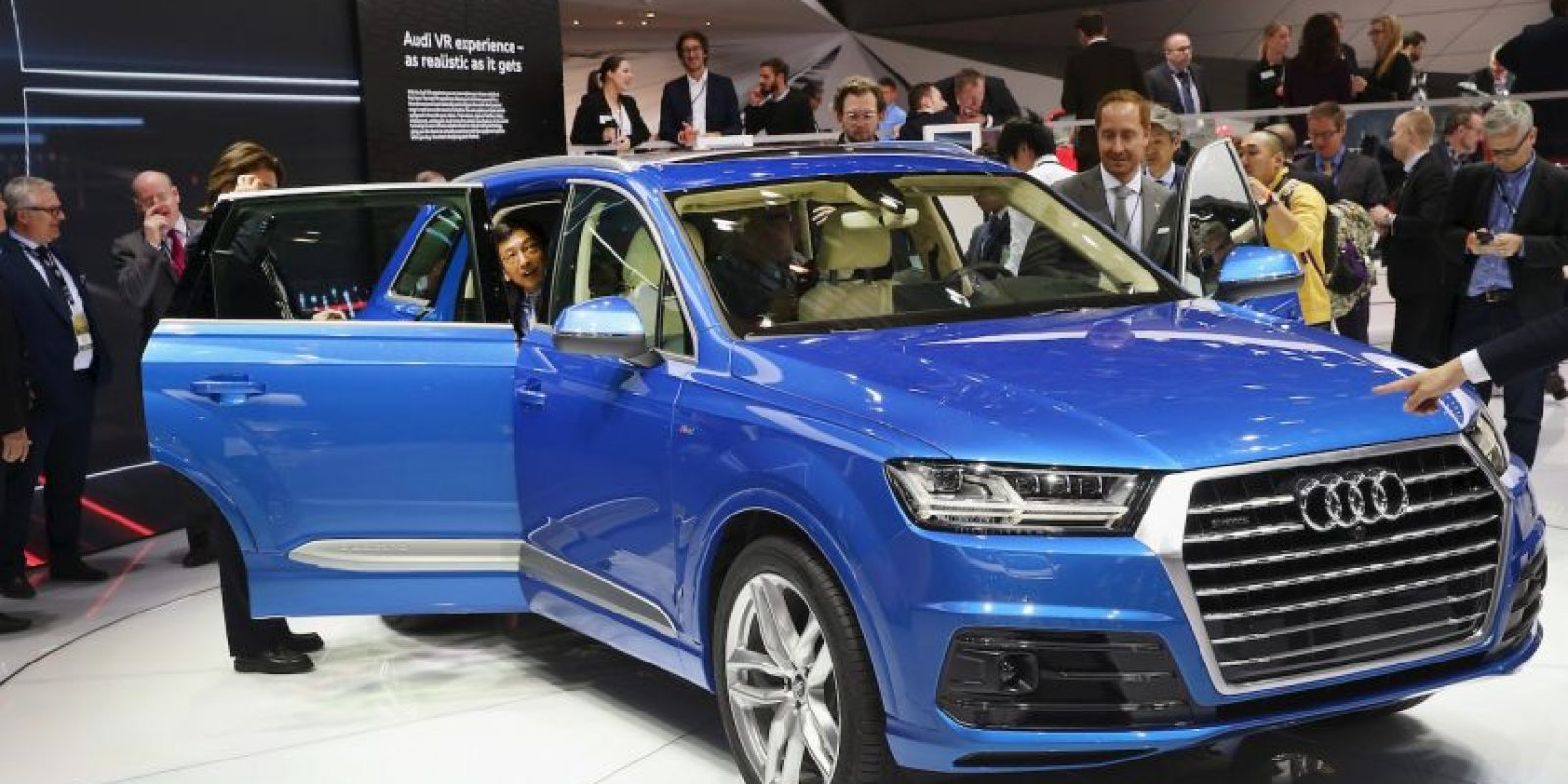 Audi Q7 Foto:Getty Images