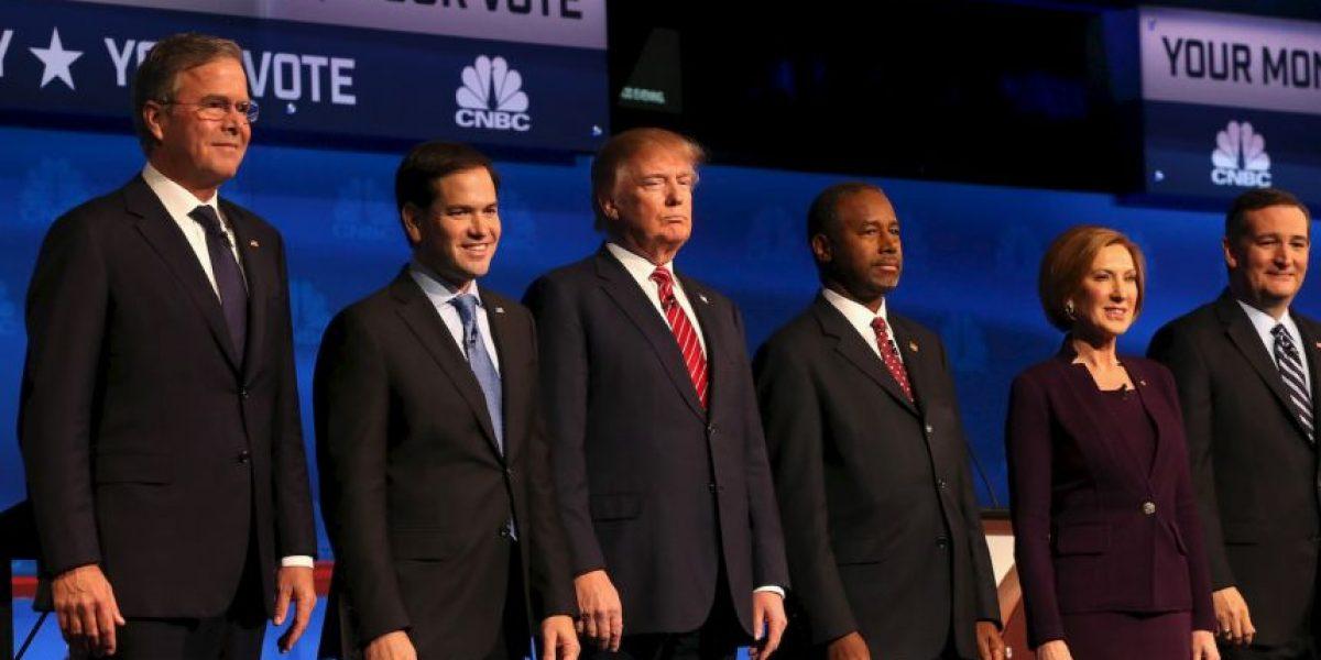 Por si no lo vio: Los 6 momentos destacados del tercer debate republicano