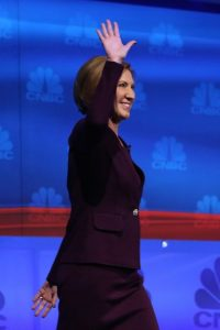 Carly Fiorina llamó hipócrita a Hillary Clinton. Foto: Getty Images