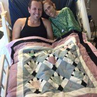 Su esposo luchó por ella. Foto:vía Facebook/ Rachael´s Road to Recovery