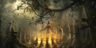 Se decía que los espíritus de los antepasados venían en esta fecha a visitar a sus seres queridos. Foto:vía Tumblr