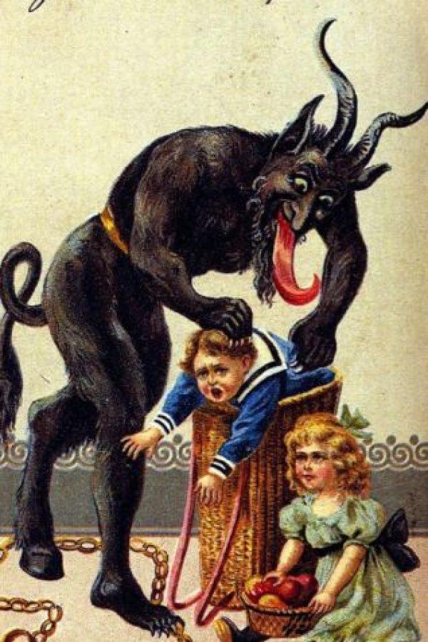 Y solamente se le rinde culto a este y a todos sus demonios, cuya noche máxima es la mencionada. Foto:vía Tumblr