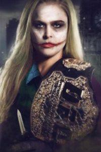 """También la convirtieron en una versión femenina del """"Joker"""". Foto:Vía instagram.com/RondaRousey"""
