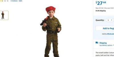 4. Soldado israelí Foto:Vía walmart.com