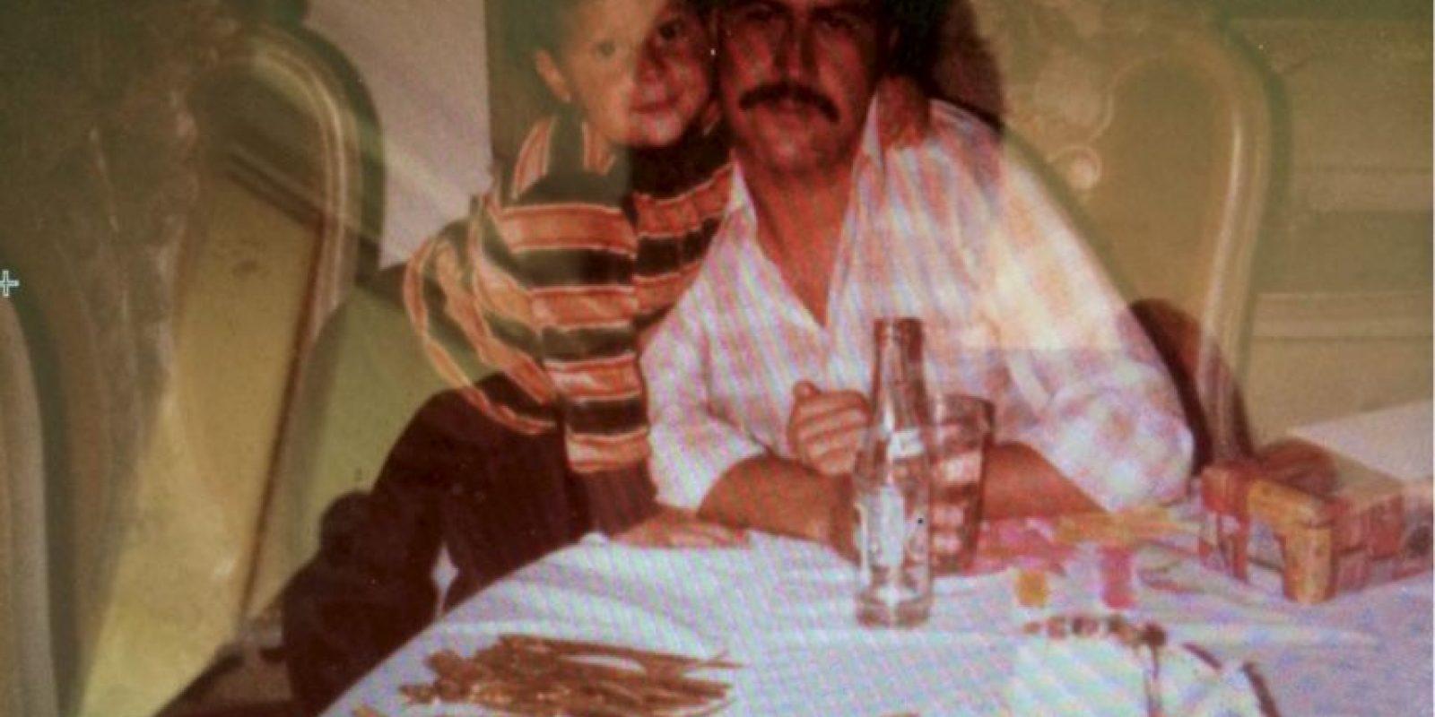 """Escobar era conocido, antes de su muerte a la edad de 44 años, como """"El rey de la cocaína"""" para las autoridades. Foto:Vía Facebook.com/JuanPabloEscobarHenao"""