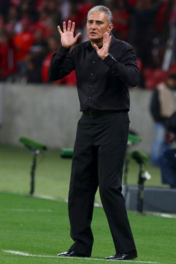 A favor de Messi: Tite (Corinthians) Foto:Getty images