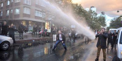 Protesta en Turquía. Foto:AFP