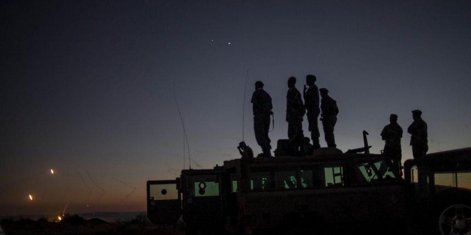 Soldados en Sudáfrica. Foto:AFP