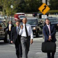 Estados Unidos lidera una coalición internacional que lucha por desarticular al grupo terrorista Estado Islámico, que comenzó operaciones oficiales hace un año. Foto:Getty Images