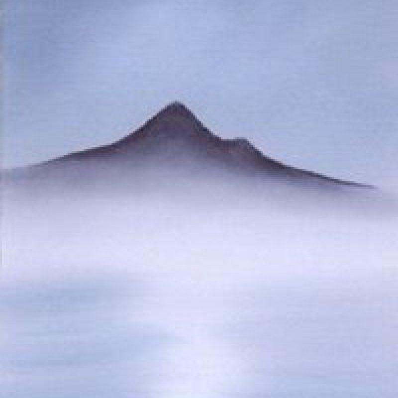 Paso 3: Con otra brocha será necesario completar la base de la montaña. Foto:vía Facebook/The Joy of Painting