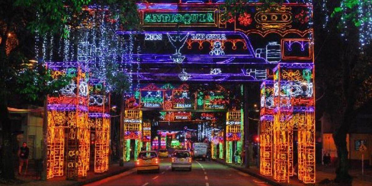 Una hora menos tendrá el alumbrado navideño en Medellín