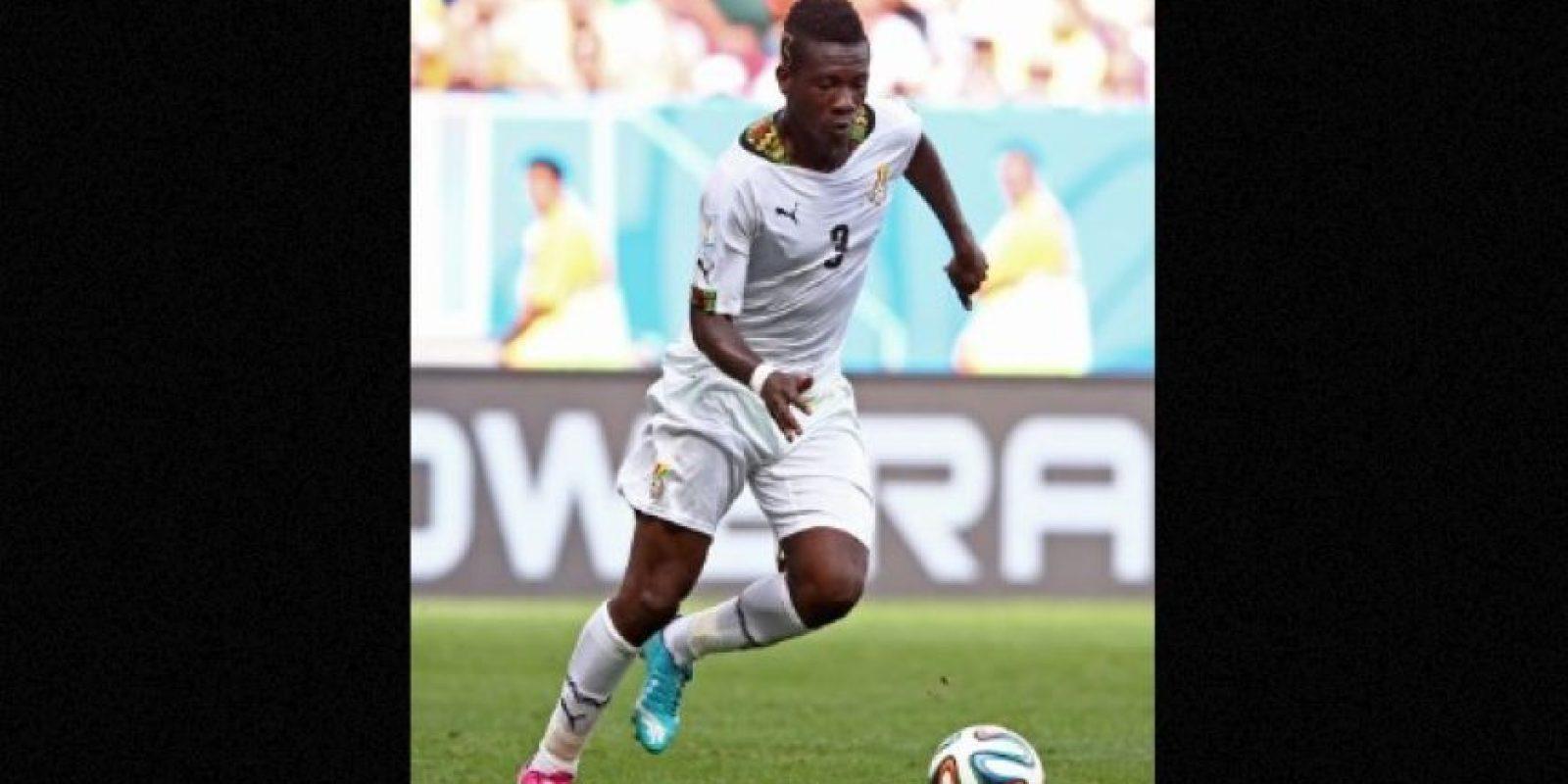 El futbolista de Ghana, Asamoah Gyan, fue acusado de haber sacrificado al rapero Castro en un ritual realizado en su casa. Foto:Getty Images