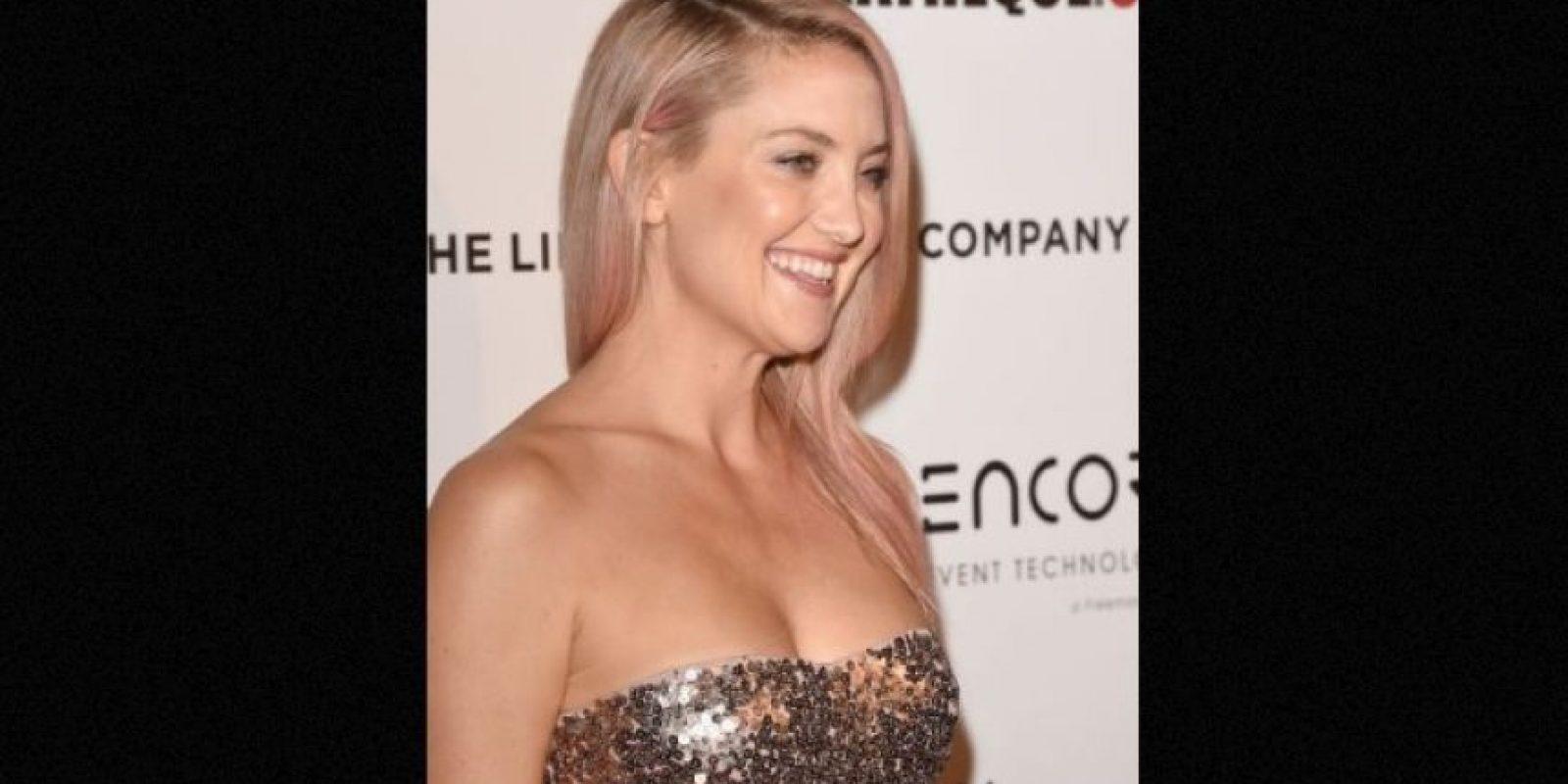 La actriz vio una mujer sin rostro Foto:Getty Images