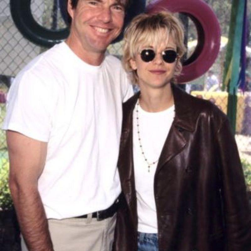 """Los actores se conocieron en las grabaciones de la cinta """"Innerspace"""" Foto:The Grosby Group"""