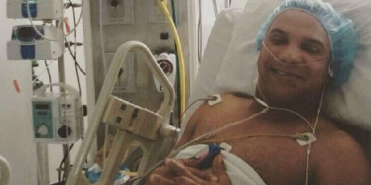Juan Carlos Coronel salió de la unidad de cuidados intensivos