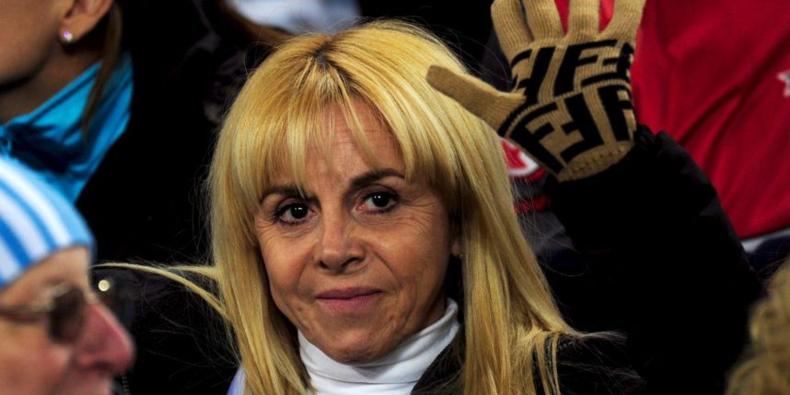 Es la madre de sus hijas Dalma y Gianinna Foto:Getty Images