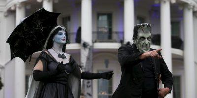 Así se ha celebrado Halloween en la Casa Blanca Foto:Getty Images