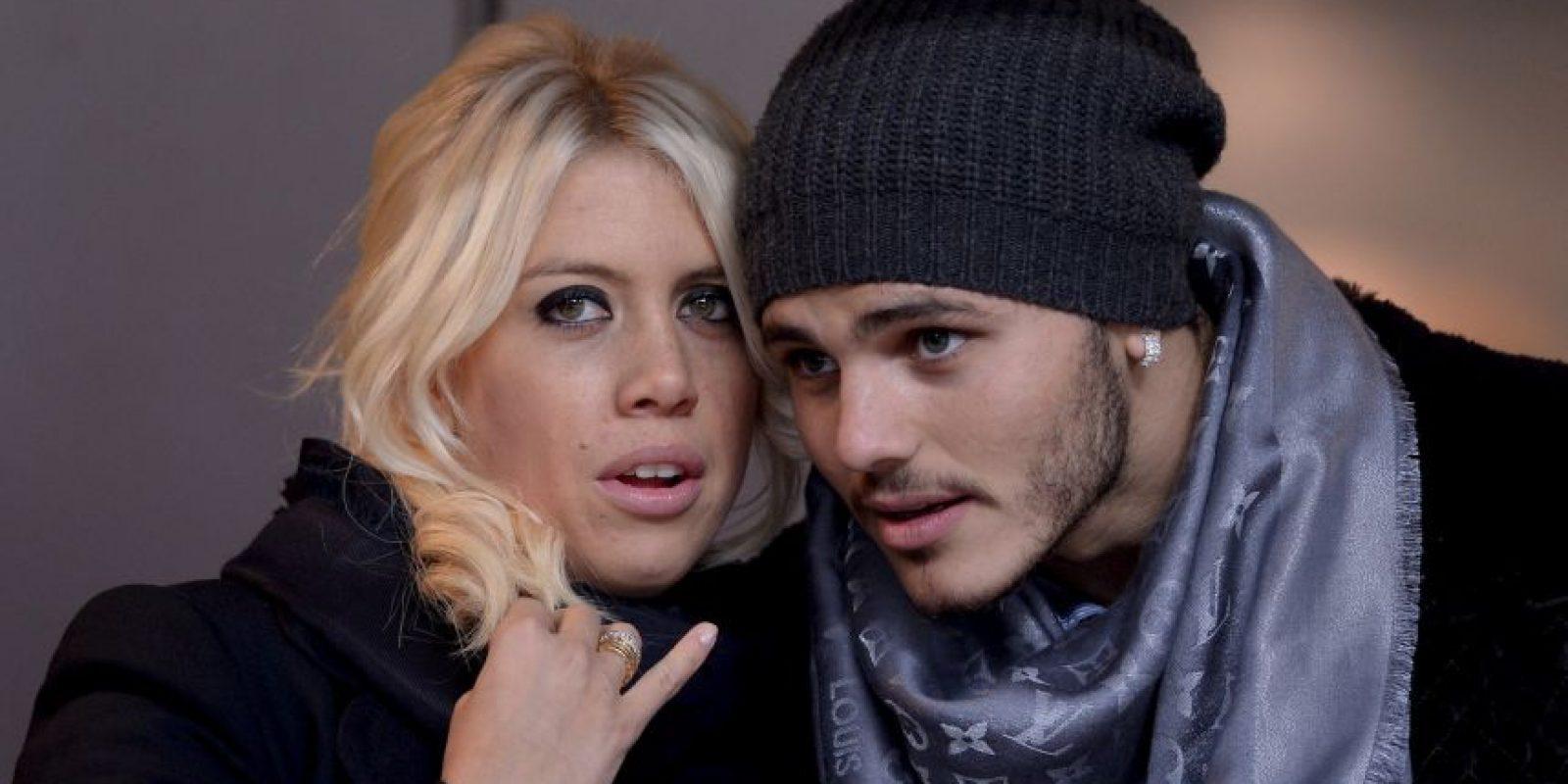 La vedette es la actual pareja de Mauro Icardi Foto:Getty Images