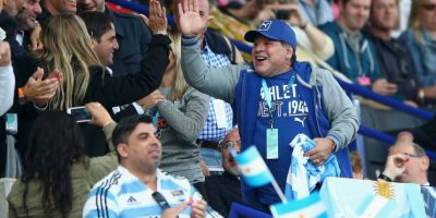 El argentino celebró en Dubái Foto:Getty Images
