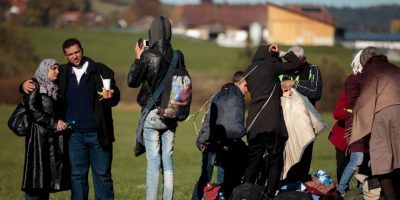 Esta es la peor crisis de migración que existe en el mundo desde la Segunda Guerra Mundial Foto:Getty Images