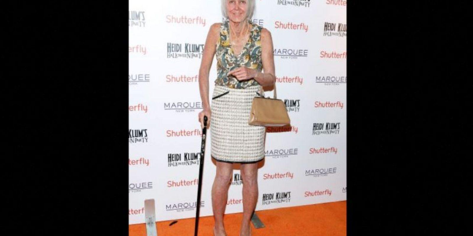 Esta anciana es la modelo Heidi Klum Foto:Getty Images
