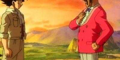 """Tal y como en """"Dragon Ball Z, la Batalla de los Dioses"""". Foto:vía Toei"""