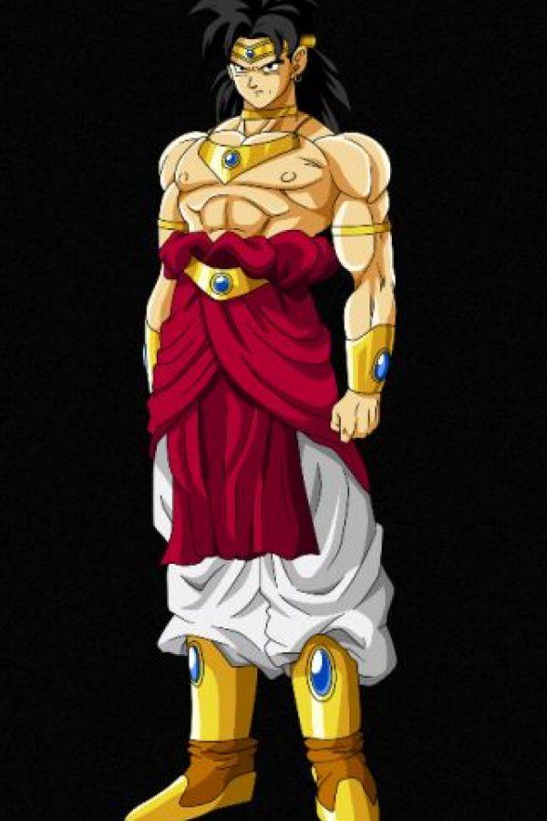 """""""Broly"""" el """"súper saiyayin legendario"""" en su estado normal. Foto:dragonball.wikia.com"""
