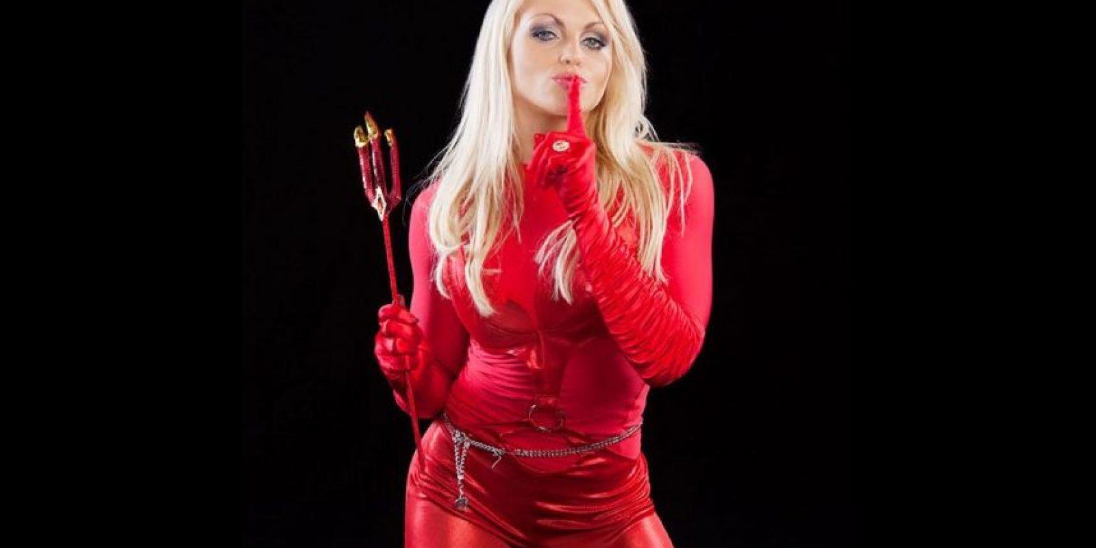 Aksana como el diablo. Foto:WWE