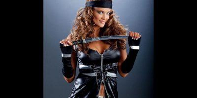 Eve Torres como ninja. Foto:WWE