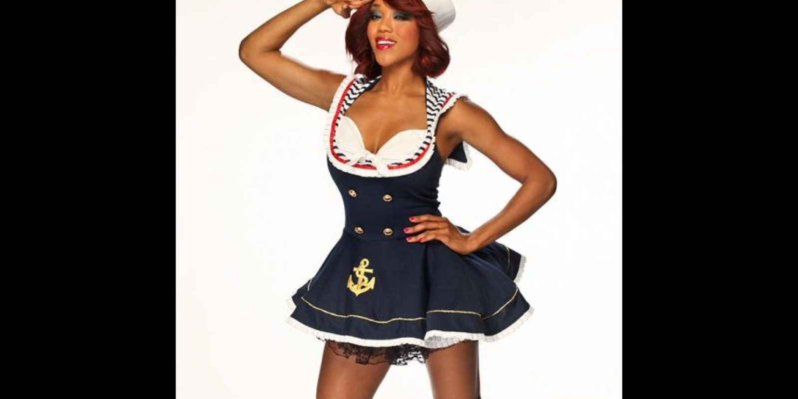 Alicia Fox como marinera. Foto: WWE