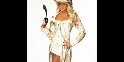 Kelly Kelly como pirata. Foto: WWE